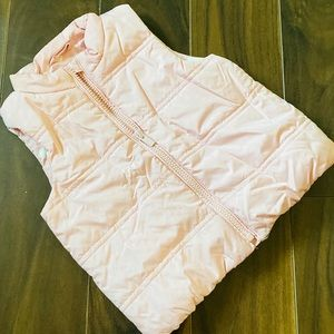 Baby Gap Toddler Girl's Light Pink Puffer Vest